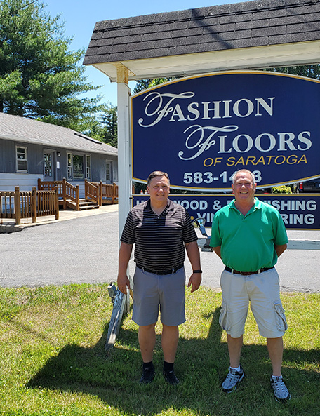 fashion floors of saratoga sign